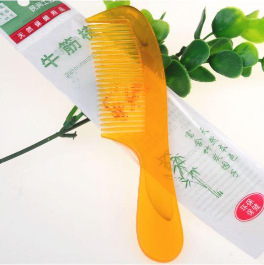 【省錢博士】 塑料牛筋梳 / 牛角梳
