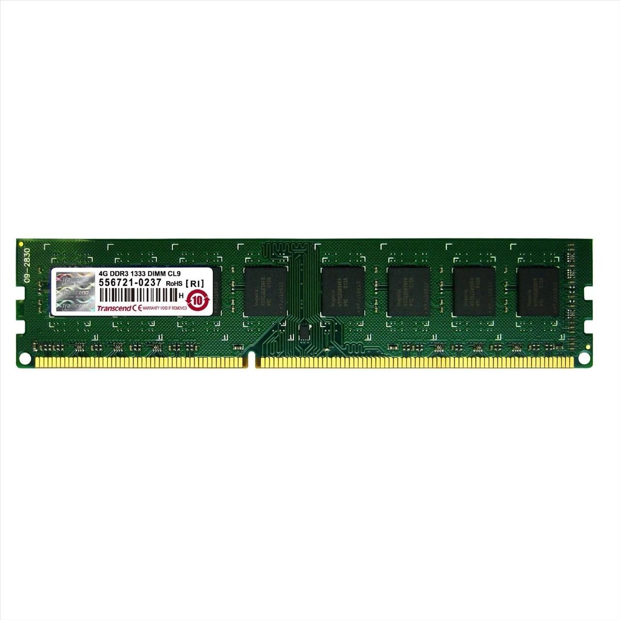 【新風尚潮流】創見桌上型 4G DDR3-1333 終身保固 公司貨 TS512MLK64V3N