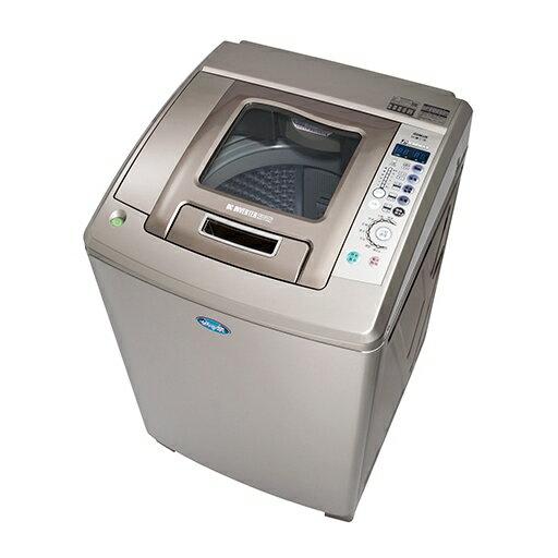 台灣三洋SANLUX15公斤內外不鏽鋼超音波變頻洗衣機SW-15DU1六芒星鑽迴轉盤