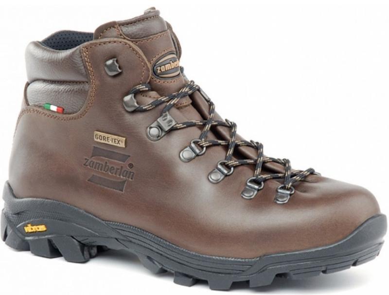 Zamberlan 防水登山鞋/皮靴/高筒全皮登山靴 309 New Trail Lite GTX 中性款 栗棕 義大利製造