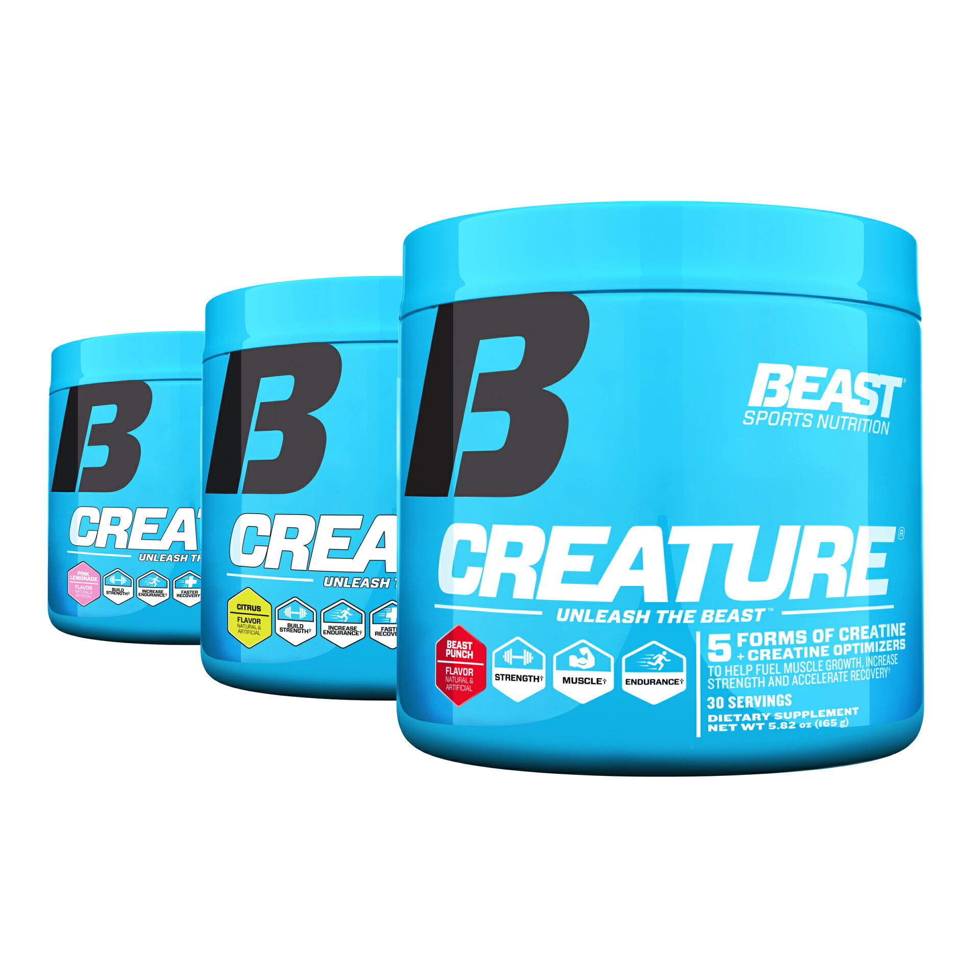 5afdcaed Beast Sports Nutrition Creature Creatine Complex Greater Strength & Mass 30  srv 0