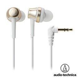 [富廉網] 鐵三角 ATH-CKR50 高音質密閉型耳塞式耳機 (香檳金)