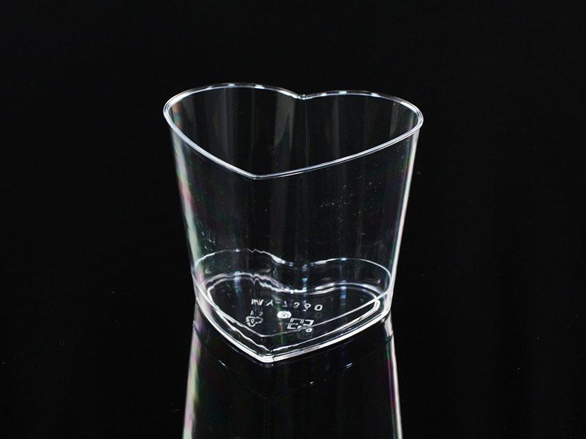 慕斯杯、奶酪杯、甜品杯、布丁杯、心型杯 B7360~0、MY7360(含透明蓋)25pcs