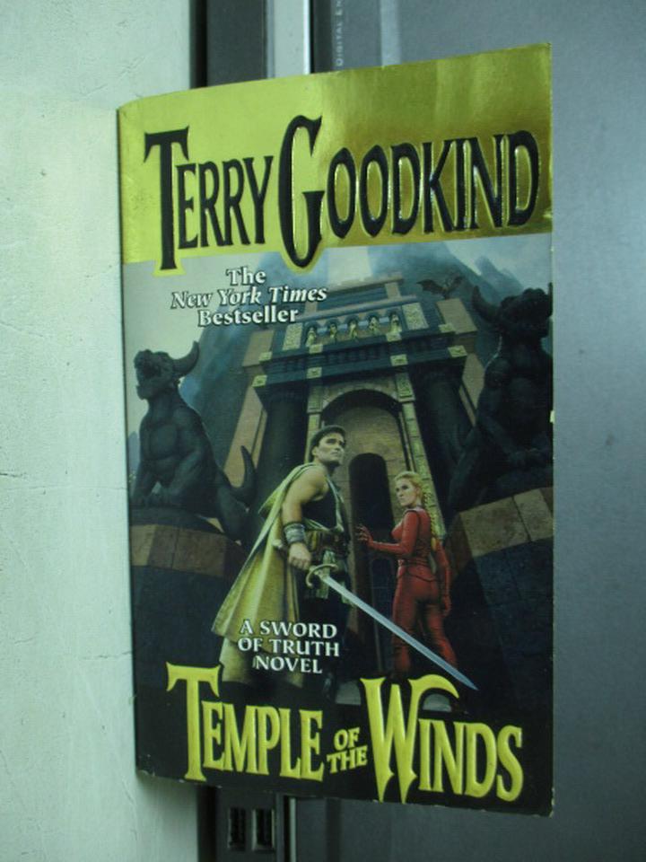 ~書寶 書T7/原文小說_KCB~Temple of the winds_Terry go