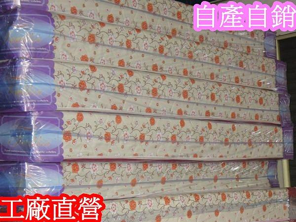 【床工坊】「日式Q床」中鋼連結硬式床墊【租屋族、房東首選】【隨機布花 】 1