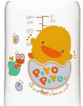 Piyo 黃色小鴨 媽咪乳感PES防脹氣奶瓶 (140ml)【悅兒園婦幼生活館】 1