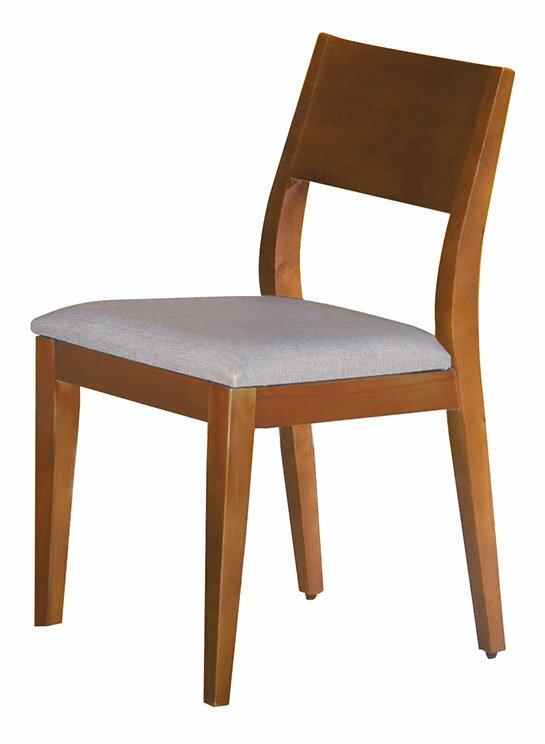 【石川家居】CE-452-15 喬伊柚木色餐椅 灰皮 (不含餐桌與其他商品)