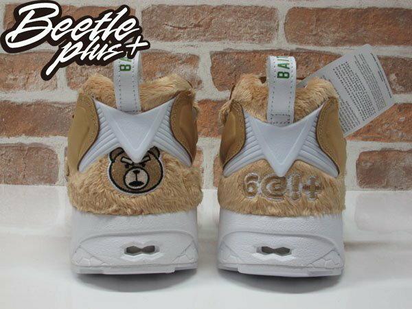 BEETLE BAIT X TED 2 X REEBOK NASTY INSTAPUMP FURY 熊麻吉 聯名 生氣版 毛毛 泰迪熊 泰德 慢跑鞋 AQ9351 2