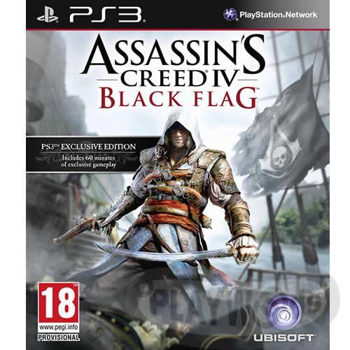 【Playwoods】[PS3遊戲]刺客教條4:黑旗 Assassin's Creed IV:Black Flag 愛德華人偶限量版 (中文亞版)