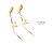 日本CREAM DOT  /  ピアス イヤリング パール ワイヤー バー ゴールド シンプル 華奢 上品 清楚 結婚式 お呼ばれ 大人め カジュアル 小物 ファッション 大人 レディース【一部予約:1月中旬】  /  qc0358  /  日本必買 日本樂天直送(1190) 4