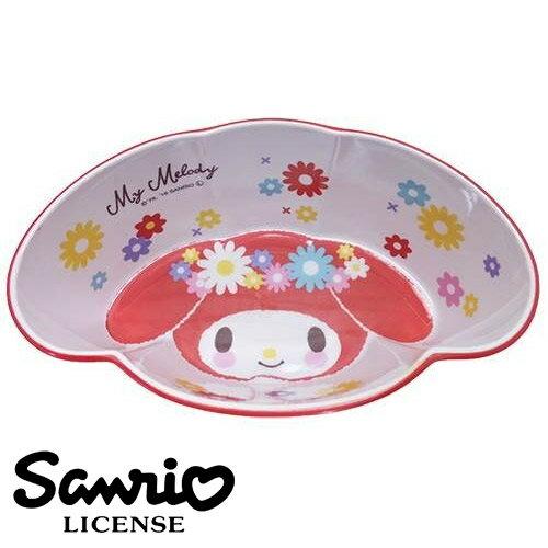 紅色款【日本進口正版】美樂蒂 My Melody 造型碗 塑膠碗 沙拉碗 水果碗 三麗鷗 Sanrio - 420031