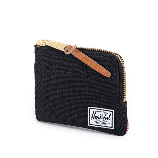 【EST】HERSCHEL JOHNNY WALLET 小皮夾 零錢包 黑 [HS-0094-001] F0421 2