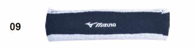 MIZUNO 美津濃 頭帶 深藍X白 (限購二個) 32TY6X0609 [陽光樂活]