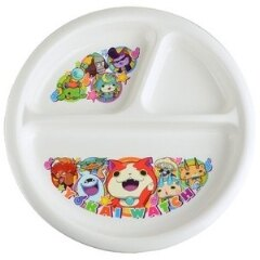 日本帶回 妖怪手錶 兒童餐盤 有防滑底座 日本製