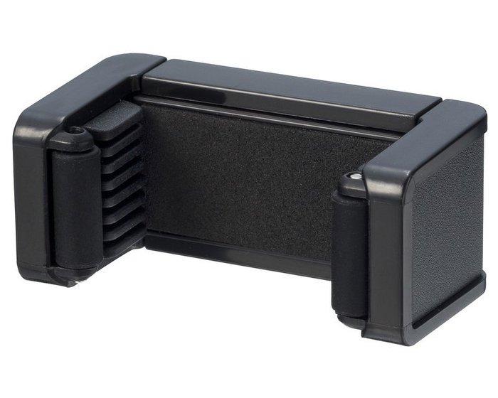 權世界@汽車用品 日本 SEIKO 黏貼式 智慧型手機架 行動電話架 大哥大架 黑色 EC-124