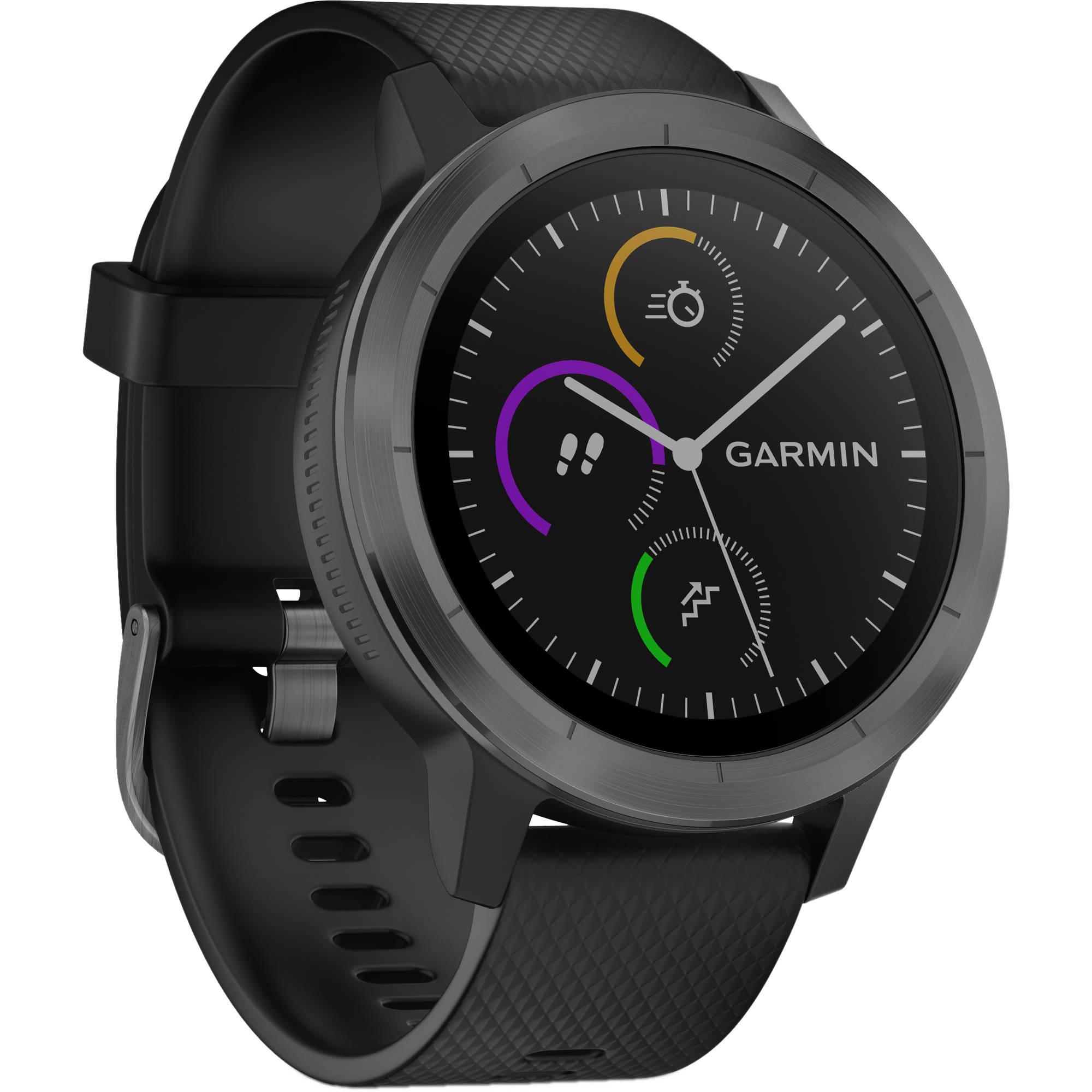 d70f627ff 6ave Electronics: Garmin vivoactive 3 (Black with Slate Hardware ...