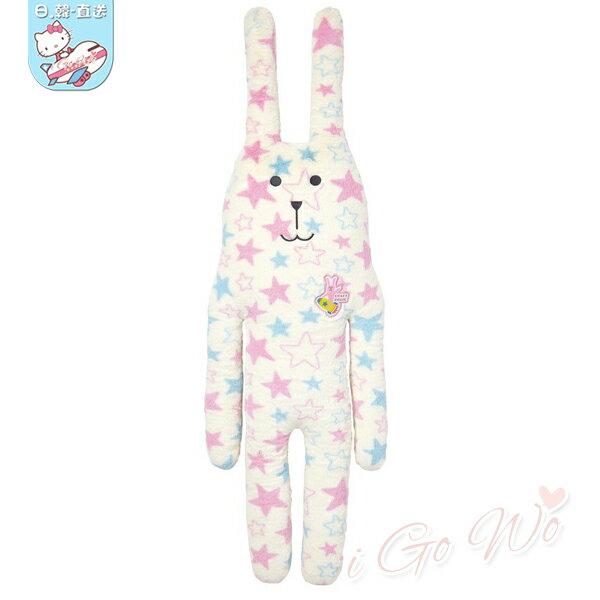 日本 宇宙人 CRAFTHOLIC 星星兔抱枕娃娃
