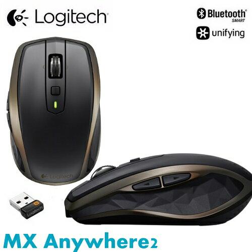 Logitech 羅技 MX Anywhere 2 無線便攜式行動滑鼠 雙無線連線
