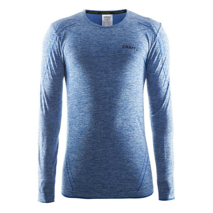 《台南悠活運動家》Craft 瑞典 男全天候長袖排汗衣 1903716 藍 淺灰 黑