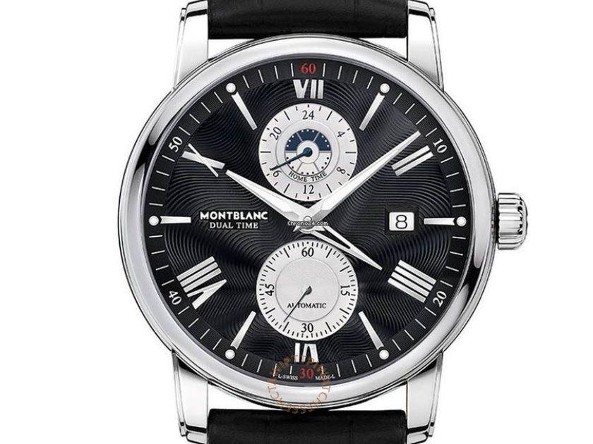MONTBLANC 萬寶龍 4810系列雙時區腕錶 REF. 114858 1