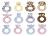 『121婦嬰用品館』美國Angel Dear 動物手搖鈴環 小猴AD1633(此商品售出不做退換) 2