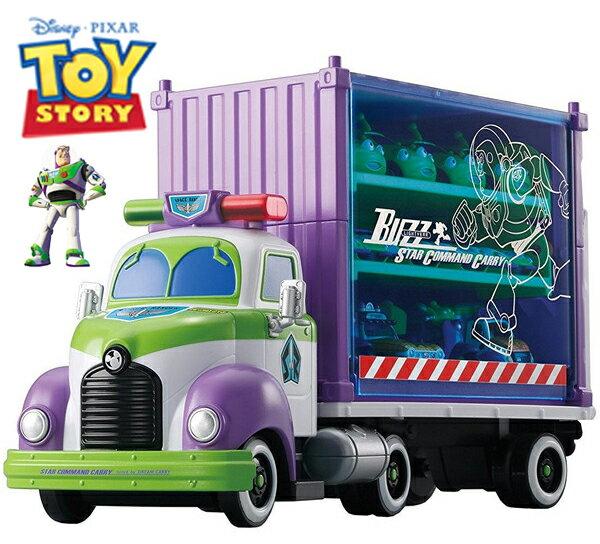 【真愛日本】16120200007   玩具總動員收納車-巴斯光年  迪士尼 玩具總動員 TOY  多美小汽車 收納車