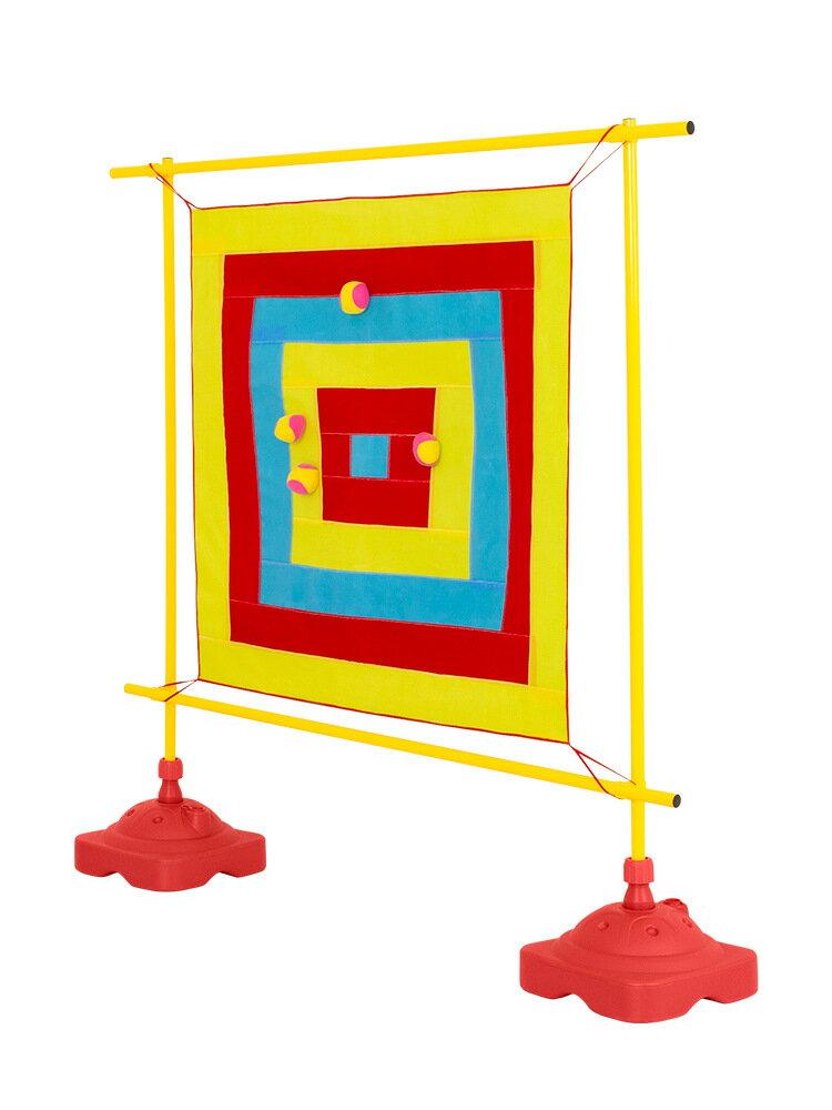 兒童飛鏢盤粘球靶感統訓練器材幼兒園親子游戲戶外道具投擲粘靶器