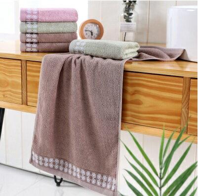 PS Mall 竹漿纖維毛巾 毛巾34*76cm【J1373】 0