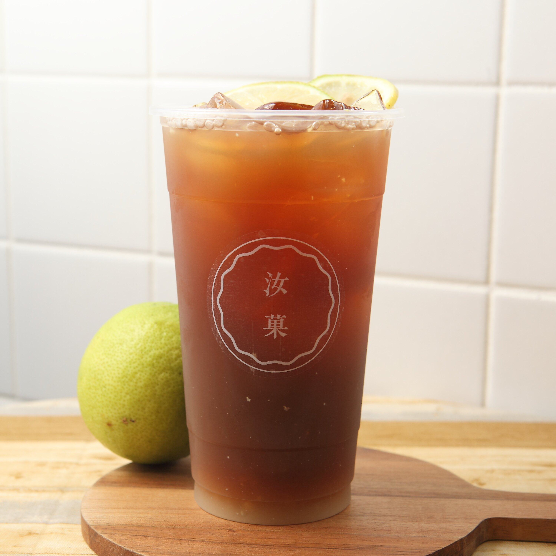【汝菓】鮮檸紅茶 L (冷) 700 c.c.★茶飲★水果風味★電子票券
