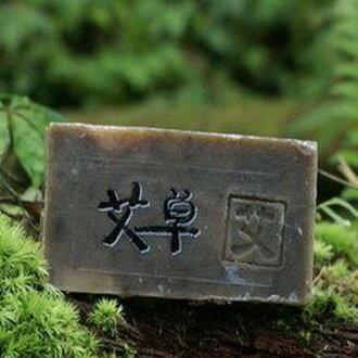 阿原肥皂---天然手工肥皂---艾草皂100g