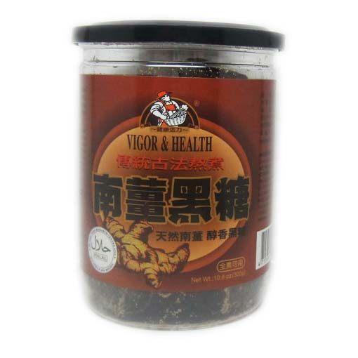 有機廚坊南薑黑糖塊300公克/罐