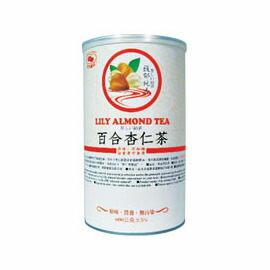 天然磨坊百合杏仁茶600g/罐