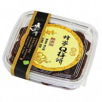 梅子.蜜餞《梅問屋》去籽日式蜂蜜Q梅餅盒裝(全國第一家梅子觀光工廠.健康看的見)