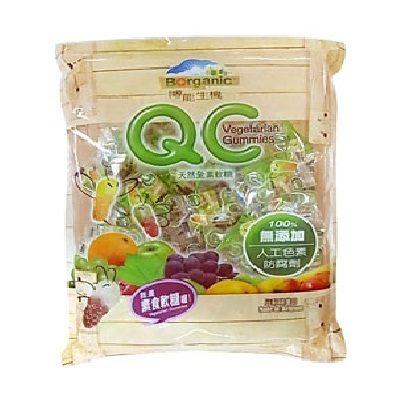 博能生機 QC 維他命C水果軟糖 260g/包(素食軟糖)