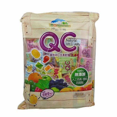 博能生機 QC 維他命C水果軟糖 260g/包(字母型)
