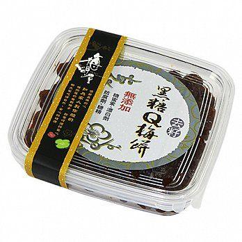 梅子.蜜餞《梅問屋》去籽日式黑糖Q梅餅盒裝(全國第一家梅子觀光工廠.健康看的見)