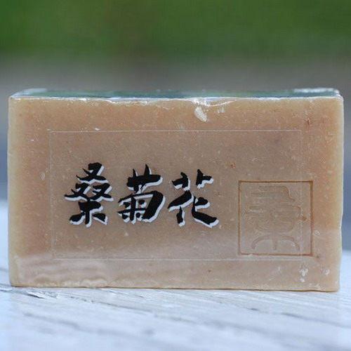 阿原肥皂---天然手工肥皂---桑菊花皂100g
