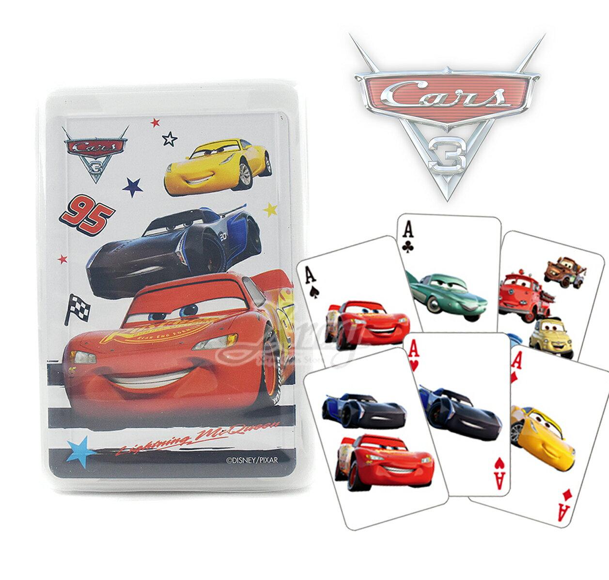 X射線【C534096】Cars3撲克牌,閃電麥坤/益智遊戲/玩具/桌遊/童玩/兒童節/送禮