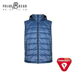 【POLAR BEAR】男3M Thinsulate科技羽絨保暖背心