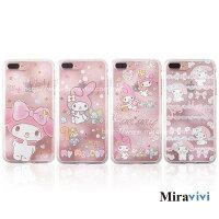 美樂蒂My Melody周邊商品推薦到Sanrio三麗鷗iPhone 7 Plus(5.5吋)施華落世奇水鑽防摔氣墊空壓保護套_美樂蒂系列