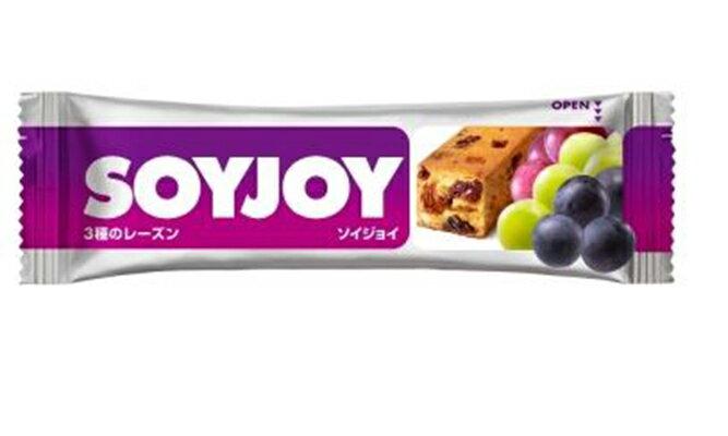 【鄉野情戶外專業】 SOYJOY |日本|  大豆營養棒/水果營養棒 健康零食 行進間糧/4987035 《葡萄杏仁》