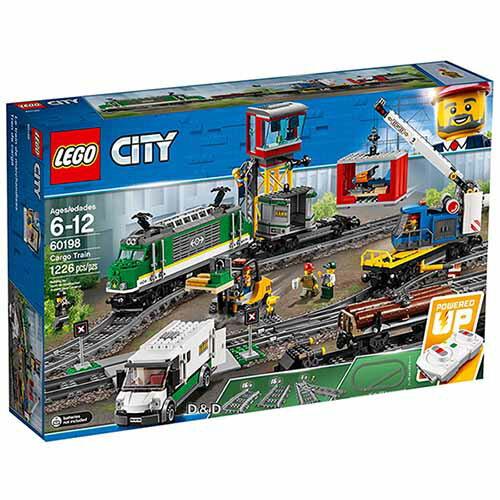 樂高積木LEGO《LT60198》2018年CITY城市系列-貨運列車