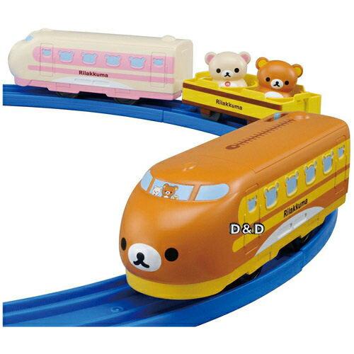 【 TAKARA TOMY 】Disney x PLARAIL 夢幻拉拉熊列車