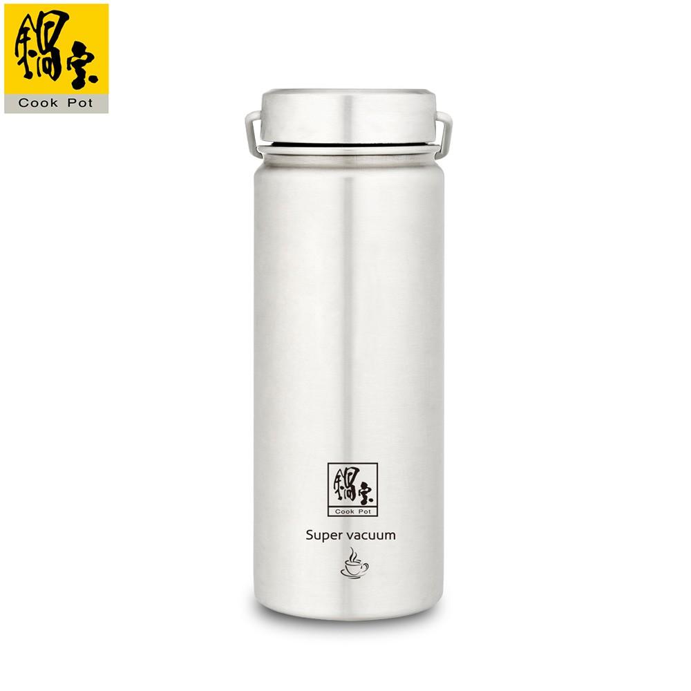 【鍋寶】316不鏽鋼真空內陶瓷保溫瓶560CC VBT-3656-1