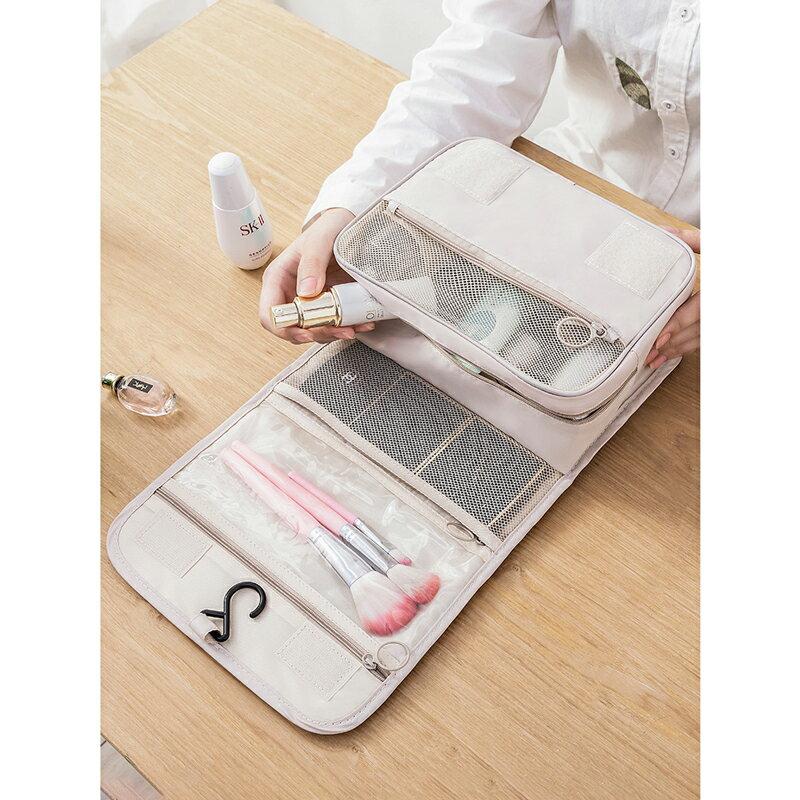 台灣現貨 旅行化妝包 大容量 收納包 收納袋 出國旅行包 拉鏈3C手機耳機用品收納袋多功能女生 保養品小包 9