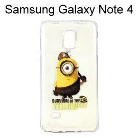 小小兵透明軟殼 [YELLOW] Samsung Galaxy Note 4 N910U【正版授權】