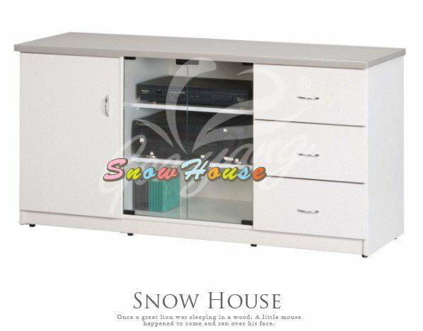 ╭☆雪之屋居家生活館☆╯P347-131415DA-123塑鋼電視櫃置物櫃收納櫃(左門內附一片隔板)