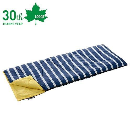 LOGOS 日本 | ROSY丸洗藍白靠墊睡袋6℃ | 秀山莊(LG72600970)