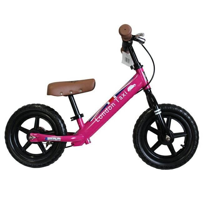 英國 LONDON TAXI 幼兒滑步平衡車/學步車/滑步車 粉色