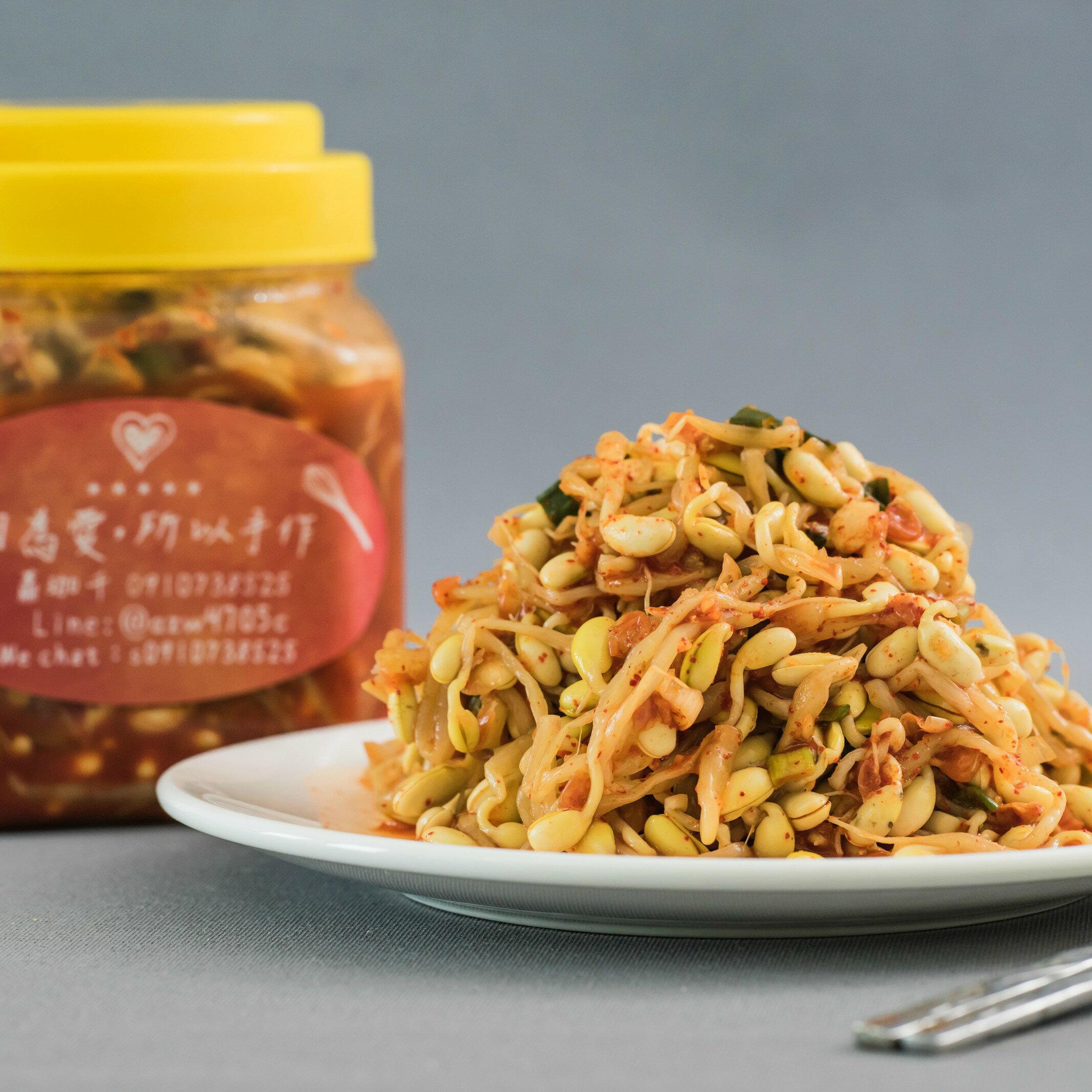 韓式 黃豆芽泡菜 (600g/罐)
